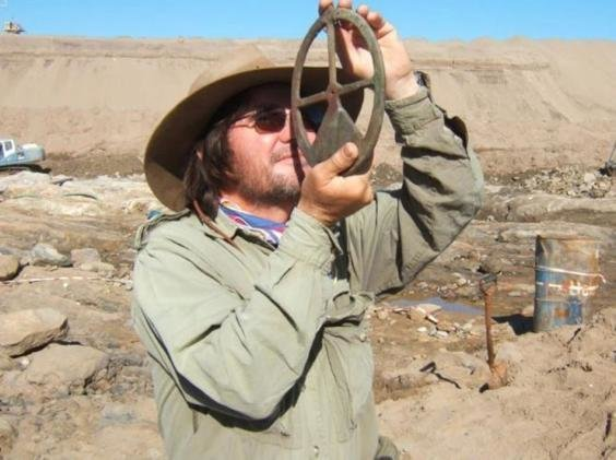 Dr Dieter Noli at the site.Source: Dieter Noli