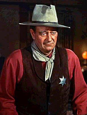 John Wayne in Rio Bravo, 1959