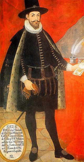 García Hurtado de Mendoza, IV marques de Canete (1535 - 1609)