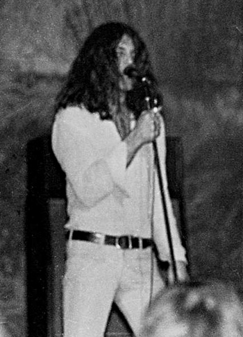 Vocalist Ian Gillan on stage in Clemson, South Carolina, US, 1972. Photo Credit