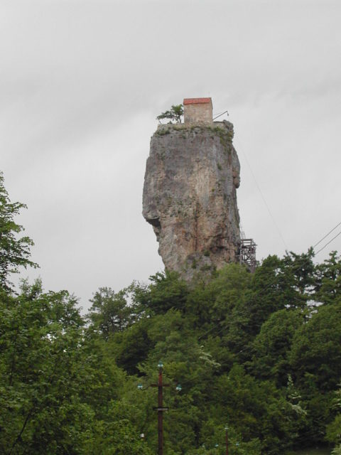 Katskhi pillar Photo Credit