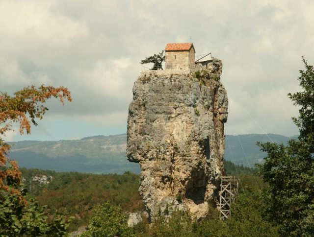 Katskhi pillar Photo Credit