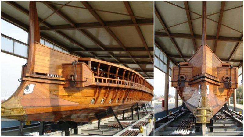 Greek Reconstructed Ship