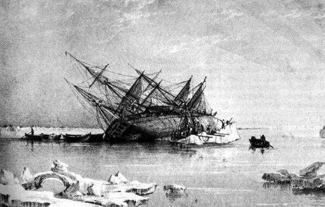 HMS Terror shipwreck