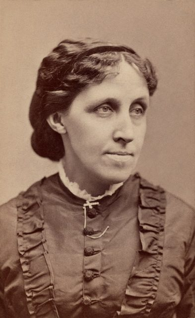 Alcott, c. 1870. Library of Congress.