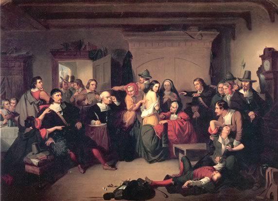 Salem Witch Trials in Massachusetts