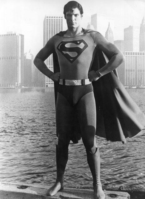 کرسٹوفر ریو 1978 میں بطور سپر مین