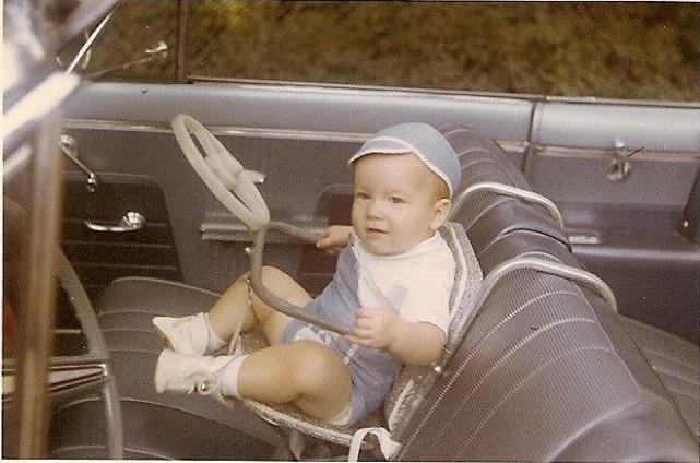 1950 کی دہائی میں کار کی تلاش