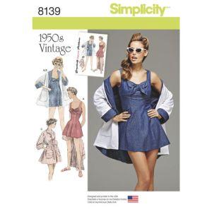 Simplicity 8139 Bathing Suit