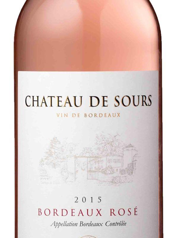 Chateau de Sours Bordeaux Rose 2015