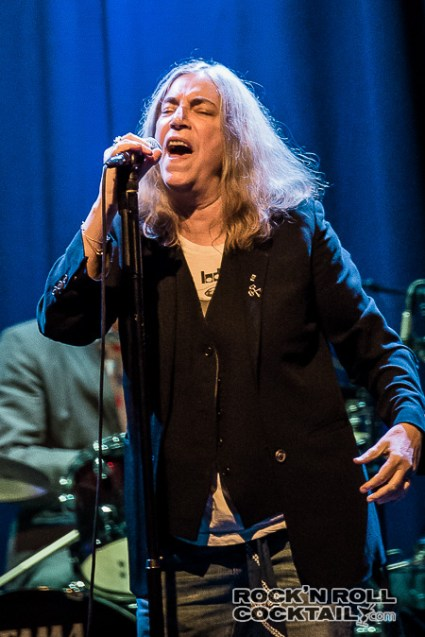 Patti Smith at The Fillmore Photographed by Jason Miller-11