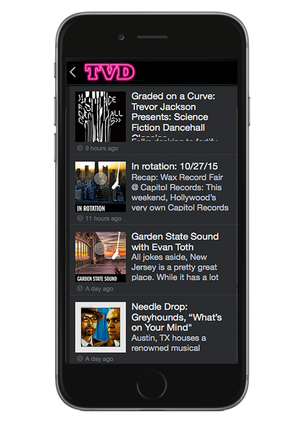 Introducing the brand new TVD Record Store Locator App and