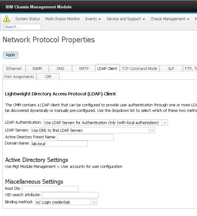 CMM Active Directory Properties