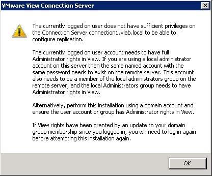 VMware Horizon View - Gotcha