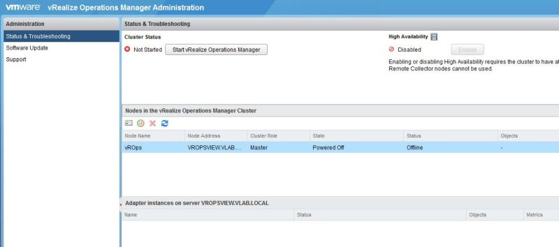 vRealize Operations Manager - Windows Version - Installation - The