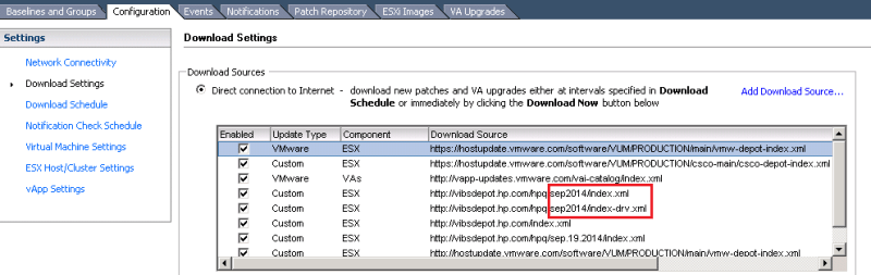 Auto Update HP drivers for vSphere using VUM - The Virtualist