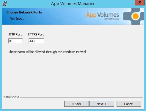 VMware App Volumes Manager 2 11 - Install and Configure