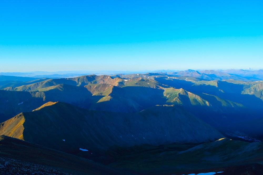 Grays Peak and Torreys Peak Hike