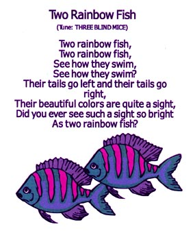 The Rainbow Fish At The Virtual Vine