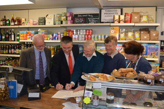 Hinton St George Shop 2