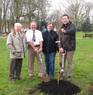 Poundbury Garden Tree planting ceremony