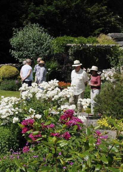 People At Cerne Open Gardens 2010