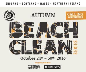 autumn-beach-clean-poster