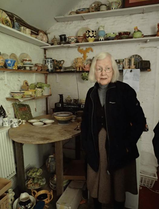 Pru Piper in Frome Studio