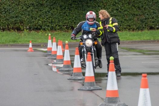 Slow Riding Instruction