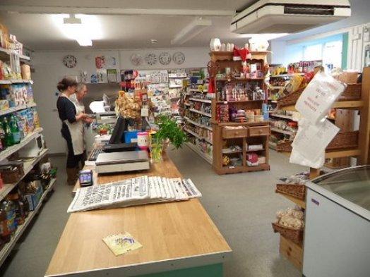 Hinton St. George Shop Interior