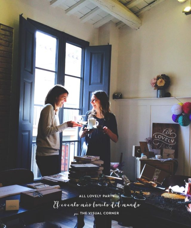 El evento del All Lovely Party team en The Visual Corner blog
