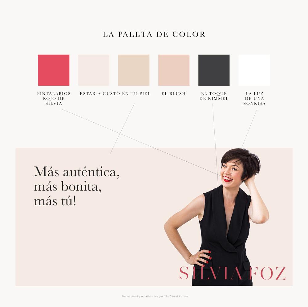 Branding para Silvia Foz por The Visual Corner