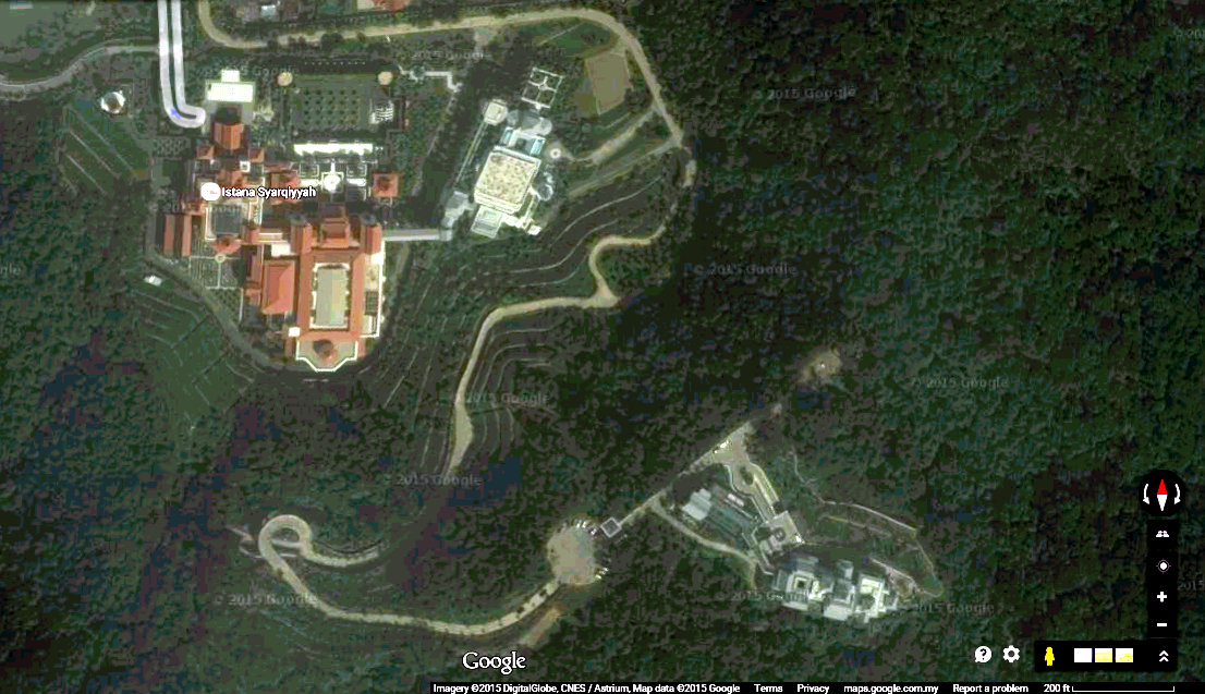 google map istana all