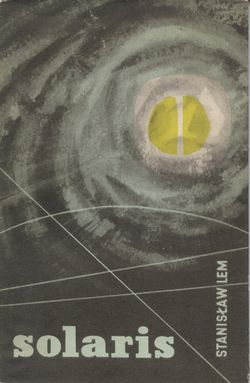 Solaris by Stanislaw Lem science fiction classic Polish sci-fi novel book cover first English edition