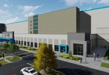 Rendering of Amazon 855,000-square-foot fulfillment center (Courtesy Photo)