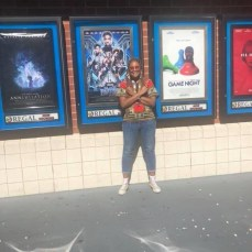 Keosha Thomas at an Uncle Nearest Whiskey sponsored viewing of Black Panther in 2018