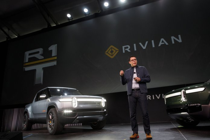 The online retailer led a $700 million investment in Michigan-based electric pickup maker Rivian, the companies said Friday.