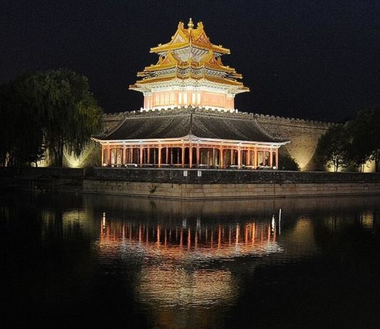 A rare opportunity for those who have long dreamed of watching illuminated lanterns dancing across night skies in the stunning historic setting of Beijing's Forbidden City.