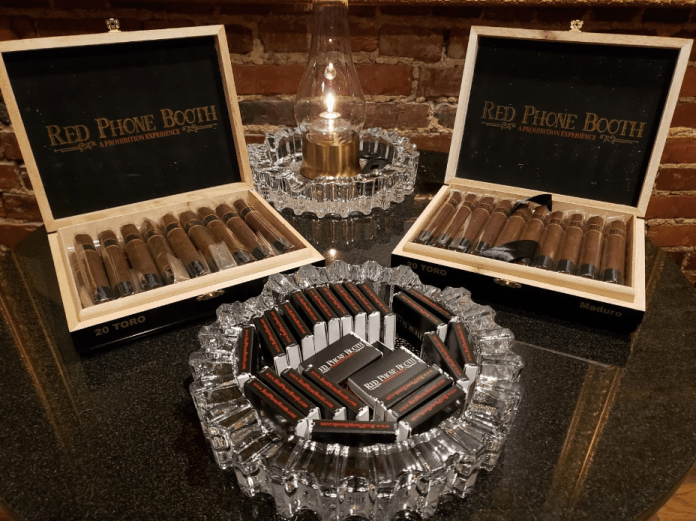 Cigar enthusiasts can enjoy a wide variety of blends in an exclusive atmosphere. In developing the humidor selection of 100+ labels, this upscale cigar bar prioritized quality and desirability of the cigars over quantity of any one brand, therefore continually bringing in fresh new inventory. (Courtesy Photo)