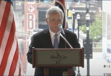 Nashville Mayor John Cooper delivering the State of Metro Address (Screenshot MetroNashville YouTube)