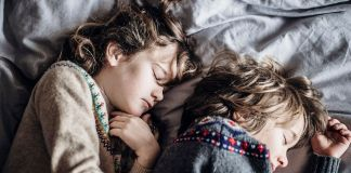 Children gained more than an hour of sleep per night after participating in a mindfulness curriculum at their elementary schools. (Annie Spratt/Unsplash)