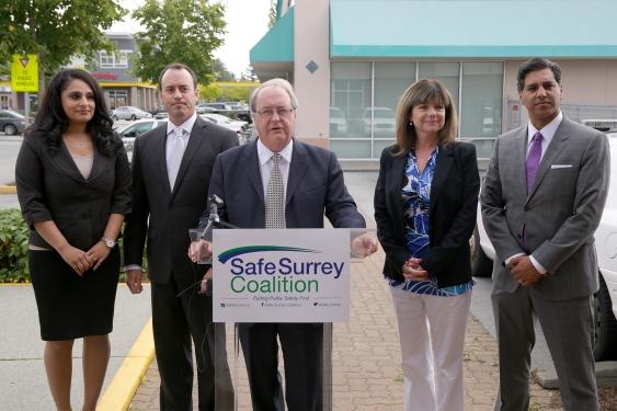 181212 SHANTZ – Mayor Doug McCallum and the Safe Surrey Coalition on the campaign trail