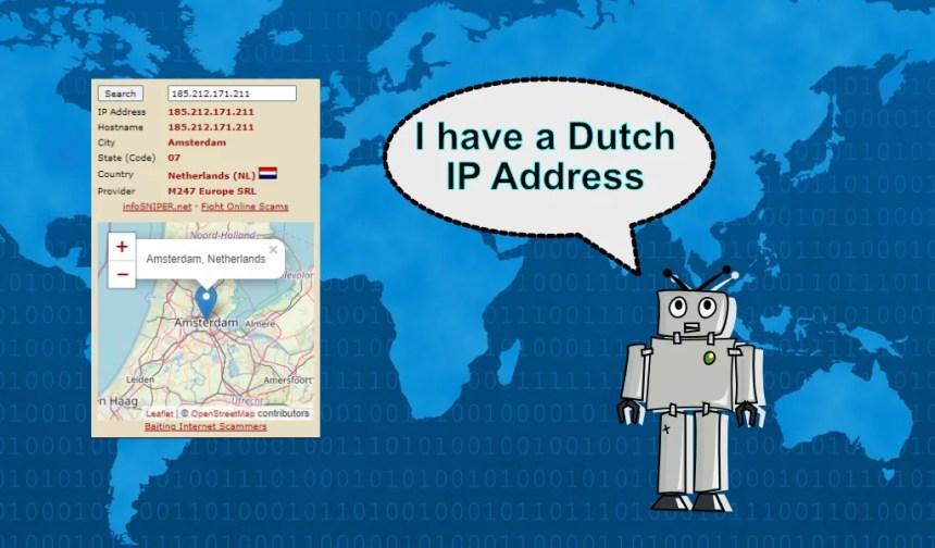 dutch ip address