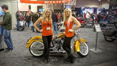 Photos from The International Motorcycle Show in Minneapolis: