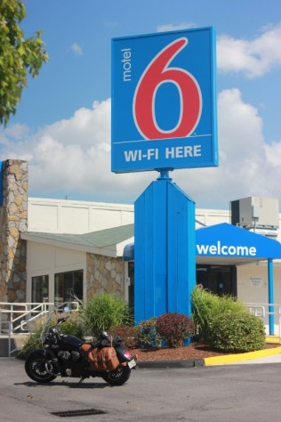 Stopped at Motel 6 in Altoona, PA (PRNewsFoto/Brian Roberts)