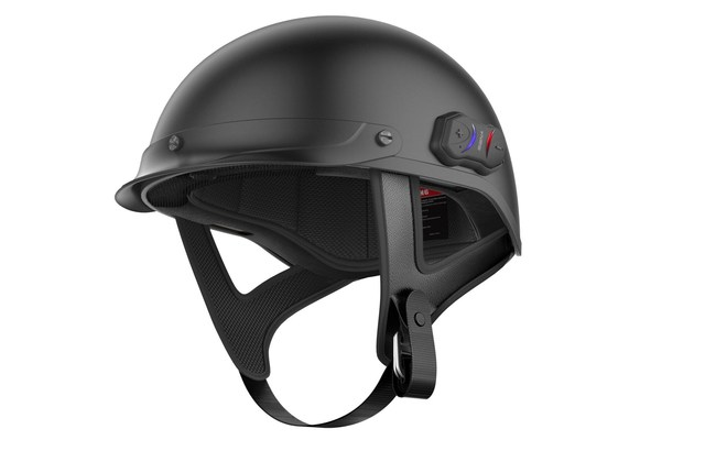 Sena, Motorcycle Communications Leader, Releases The First Ever Bluetooth Integrated Half-Helmet