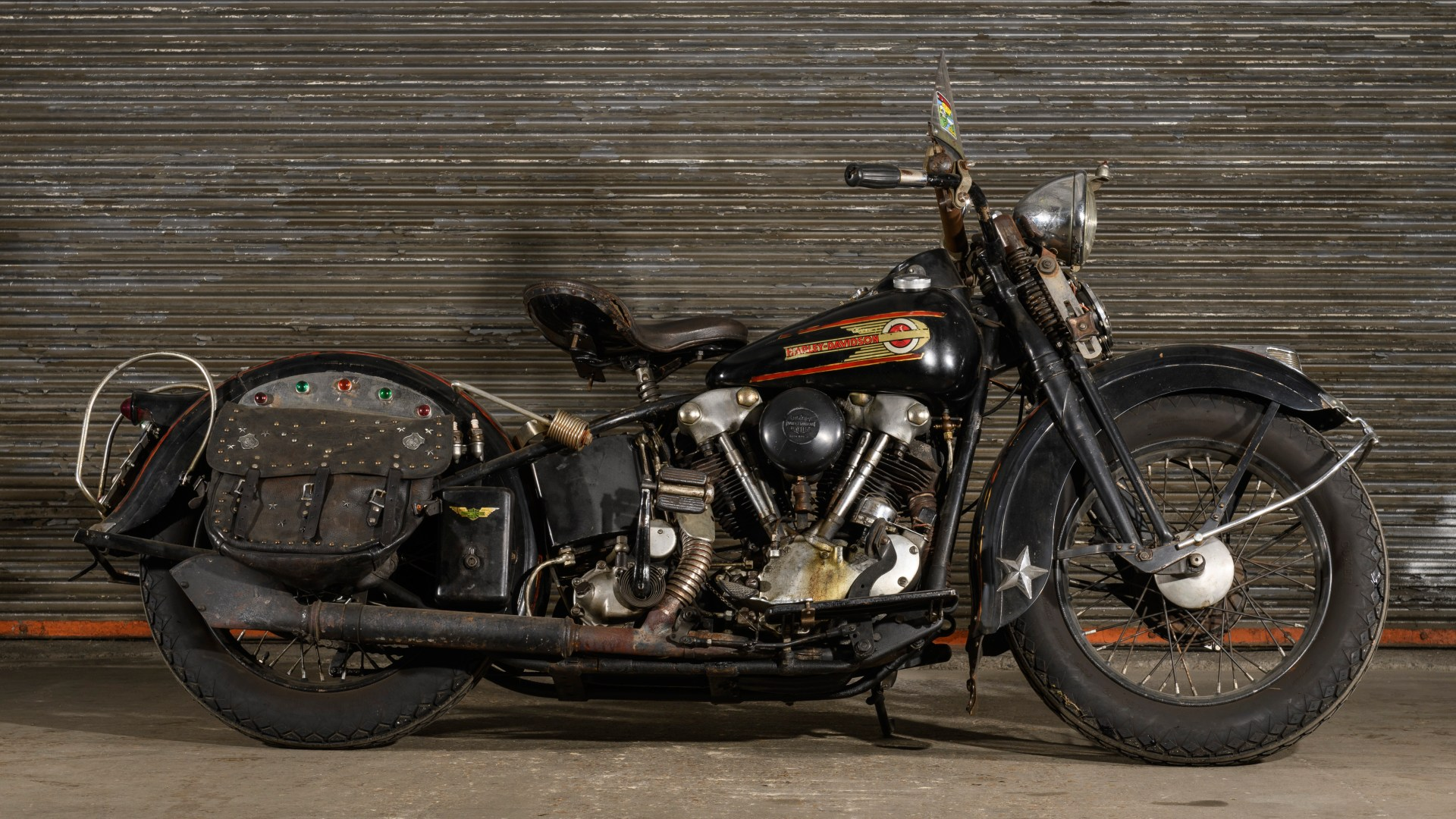Motorcycle Parts Nashville Tn >> The Dan Auerbach Collection: Vintage Harley-Davidsons from 1937-1950 - The V-Twin Blog