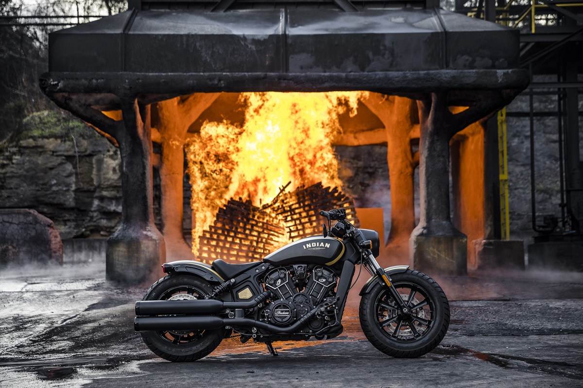 Indian Motorcycle Announces Jack Daniel's Scout Bobber