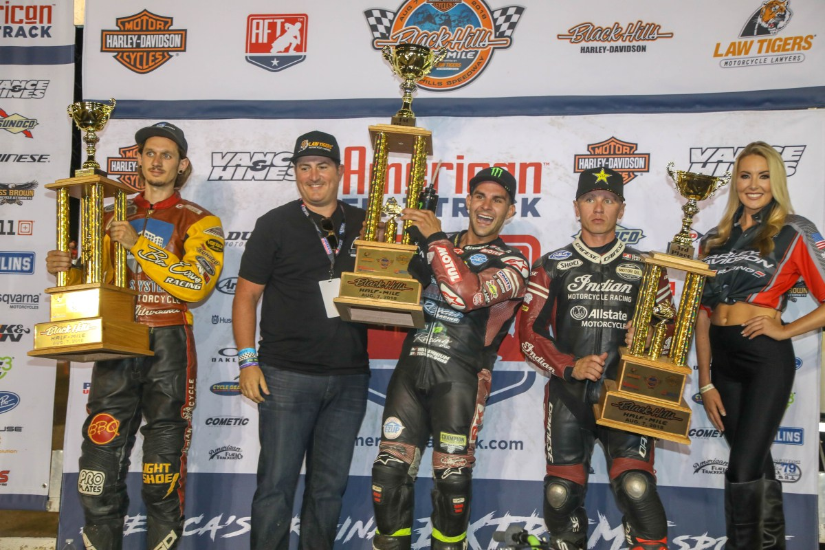 INDIAN MOTORCYCLE RACING WINS MANUFACTURER'S CHAMPIONSHIP FOR SECOND CONSECUTIVE SEASON