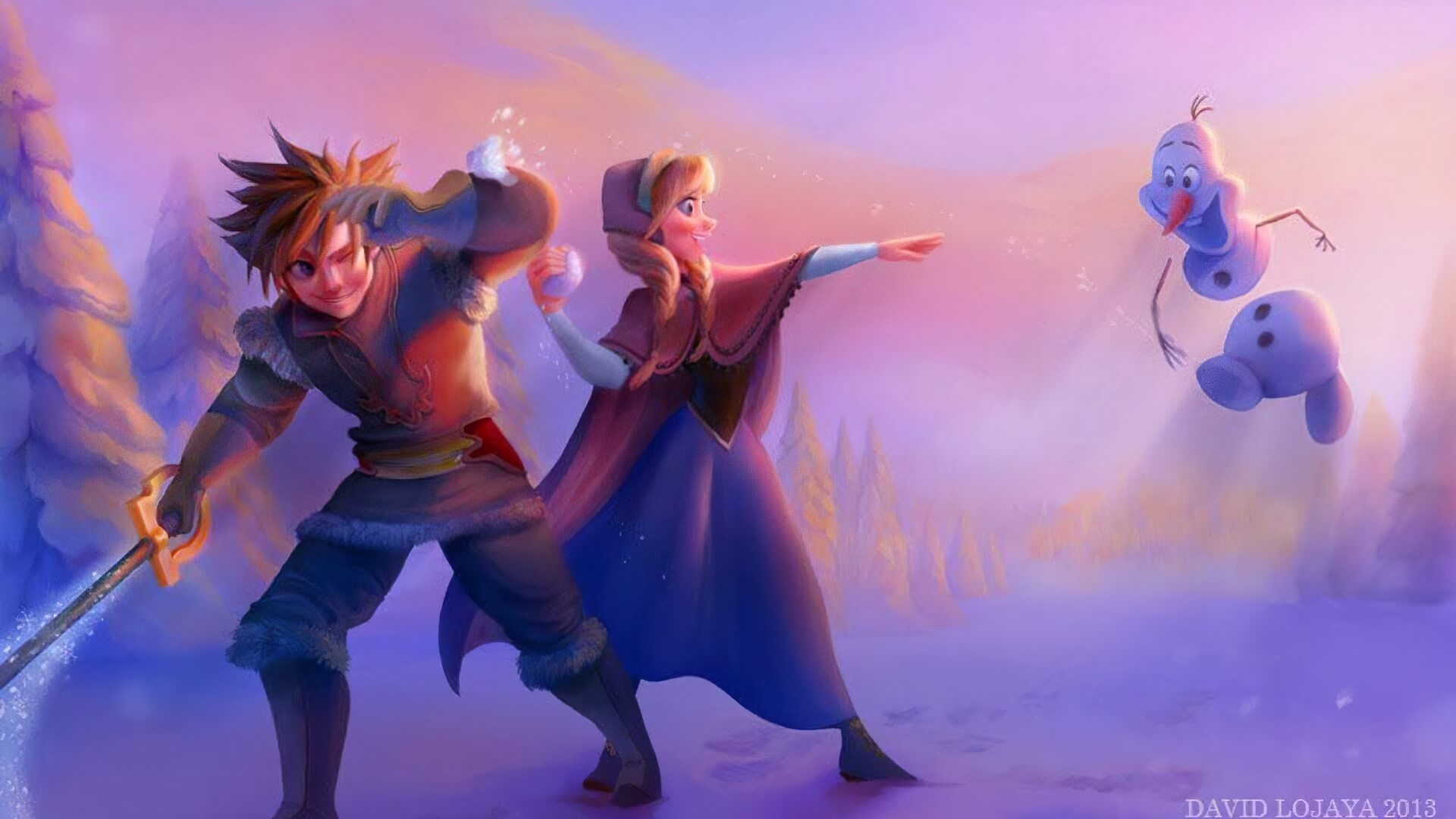 Exclusive: 'Kingdom Hearts 4' Eyeing 'Frozen II' As Potential Level